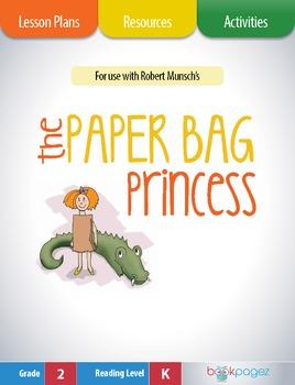 The Paper Bag Princess Lesson Plans & Activities Package,S