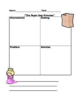 """The Paper Bag Princess"" Retell"