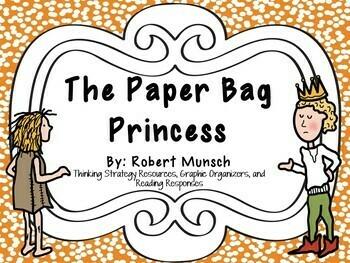 The Paper Bag Princess: by Robert Munsch:  A Complete Lite