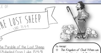 The Parable of the Lost Sheep. STORY/HANDOUT