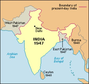 The Partitioning of India / Current Issues of India Powerpoint