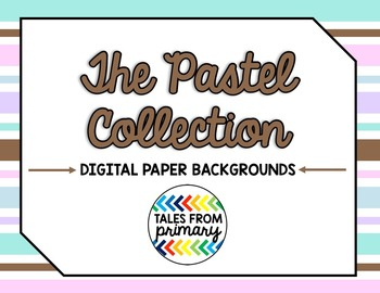 The (( Pastel )) Digital Paper Collection