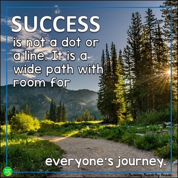 Inspirational Encouraging Poster Freebie:The Path to Success