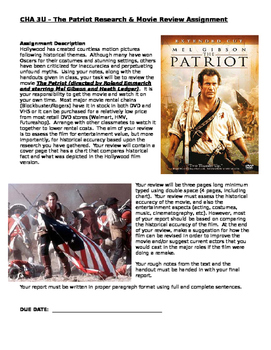 The Patriot Movie Review