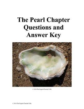 The Pearl Chapter Questions and Answer Key