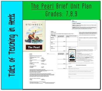 The Pearl- Brief unit plan for Grades 7, 8, & 9