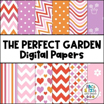 The Perfect Garden Digital Paper Pack