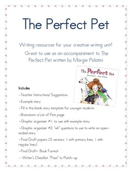 The Perfect Pet: Creative Writing Unit