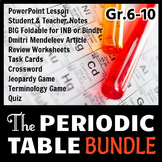 Periodic Table - LESSON BUNDLE {Editable}