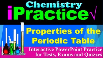 The Periodic Table: iPractice (Interactive PPT Worksheet f