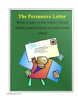 The Persuasive Letter