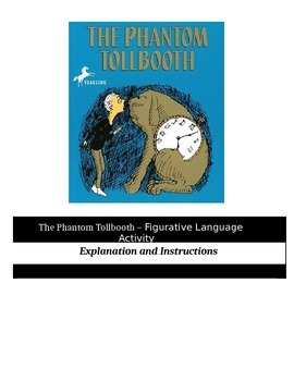 The Phantom Tollbooth - Figurative Language Activity