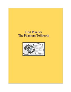 The Phantom Tollbooth Novel Unit