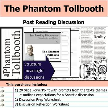 The Phantom Tollbooth - Socratic Method - Post Reading Dis