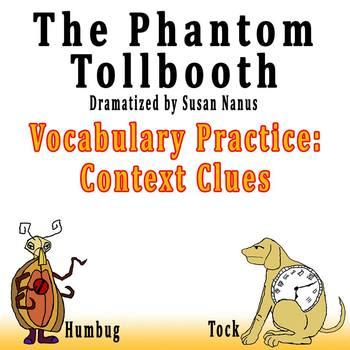 The Phantom Tollbooth by Susan Nanus - Vocabulary Practice