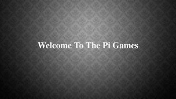 The Pi Games Math Challenge