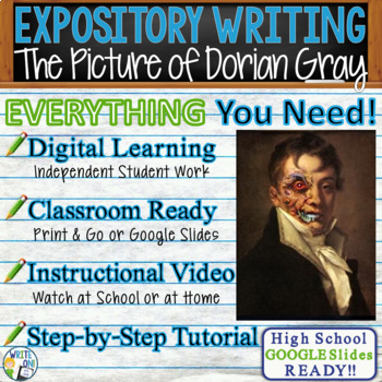 The Picture of Dorian Gray - Text Dependent Analysis Expos