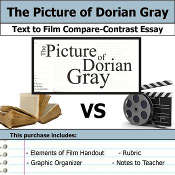 The Picture of Dorian Gray - Text to Film Essay Bundle