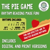 The Pie Game: Rhythm Reading Made Fun!