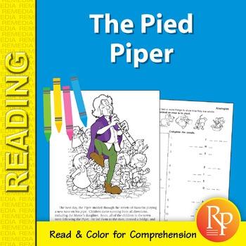 The Pied Piper: Read & Color