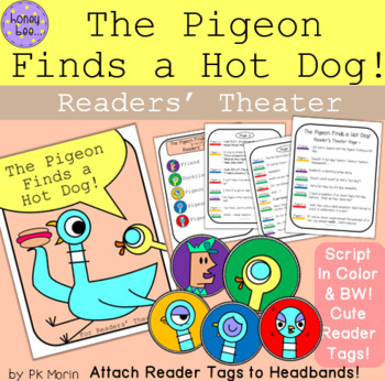 The Pigeon Finds a Hot Dog! Readers Theater