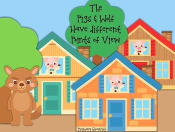 The Pigs and Wolf Have Different Points of View!
