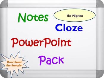 The Pilgrims Pack (PPT, DOC, PDF)