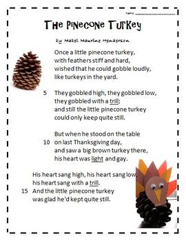 The Pinecone Turkey- Poetry Quiz