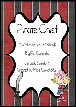 The Pirate Chief by Pat Edwards ~ A week of reading activities