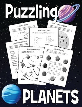 Planets Activities: Our Solar System Bundle