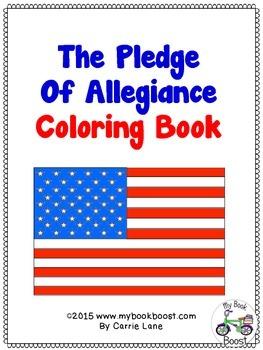 Pledge Of Allegiance Coloring Book