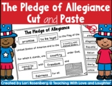 The Pledge of Allegiance Cut and Paste #KindnessNation #We