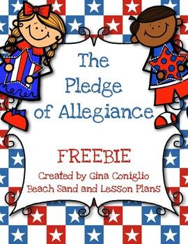 The Pledge of Allegiance FREEBIE