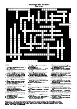 The Plough and the Stars - Crossword Puzzle