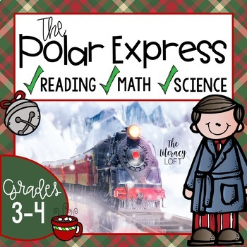 The Polar Express Math, Science, and Reading Activity Bundle