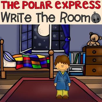 The Polar Express Write the Room FREEBIE