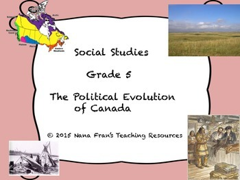 The Political Evolution of Canada - Grade 5 Social Studies