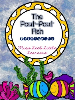 """The Pout-Pout Fish"" Printables"