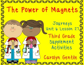 The Power of Magnets Journeys Unit 6 Lesson 27 Third Grade