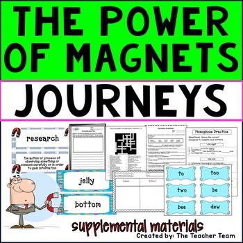 The Power of Magnets Journeys Third Grade Supplemental Materials