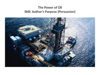 The Power of Oil PowerPoint - 4th Grade Treasures
