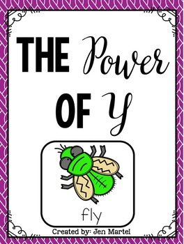 The Power of Y (y as a vowel- a phonics game)