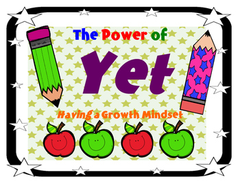 The Power of Yet..Having a Growth Mindset