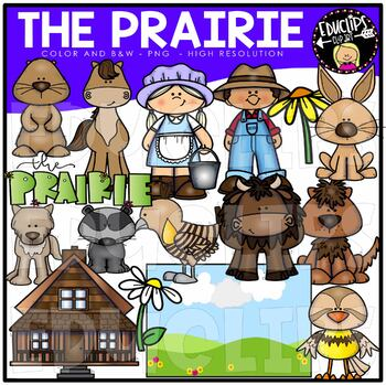 The Prairie Clip Art Bundle