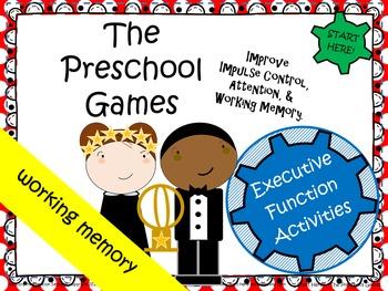 The Preschool Games - Improve Attention, Impulse Control,