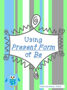 The Present Form of Be