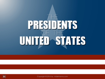 The United States Presidents: ebook, posters, & motivation