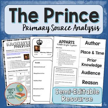The Prince Primary Source Analysis