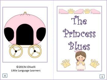 "ESL Activity: Vocabulary/Literacy Skills-""The Princess Blu"