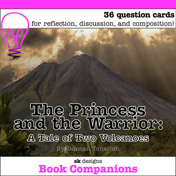 The Princess and the Warrior: A Tale of Two Volcanoes Disc